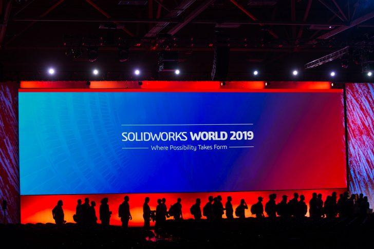 Repetición de la sesión general del primer día de SOLIDWORKS World 2019