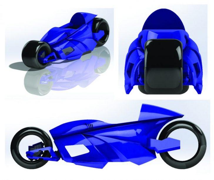 Locura de motos el diseño avanza
