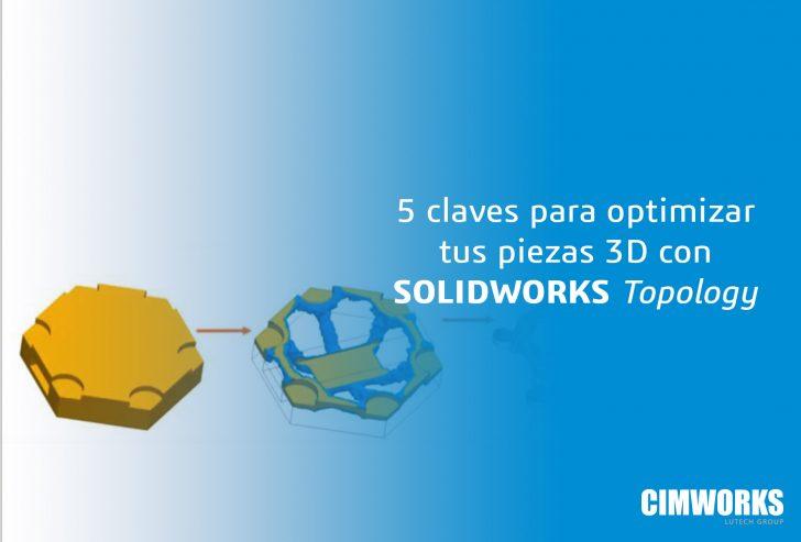5 puntos clave sobre como optimizar tus piezas de impresión 3D con Topology.