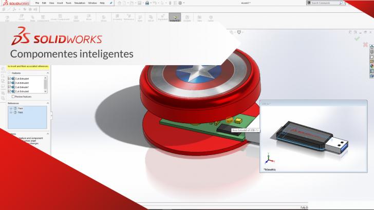 SolidWorks Componentes Inteligentes