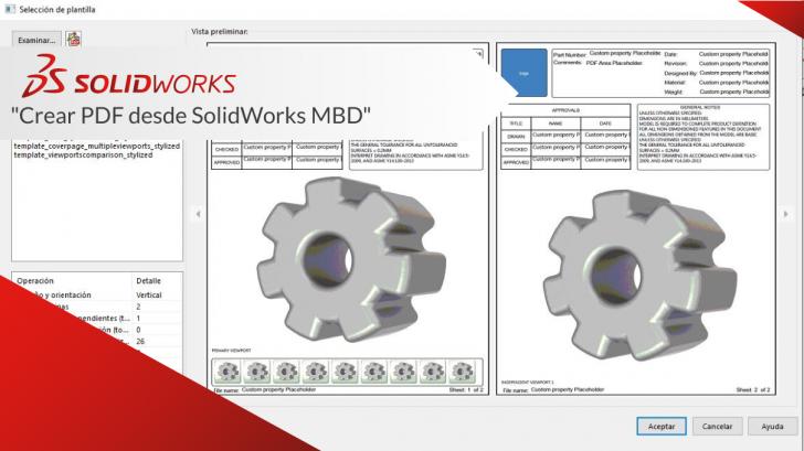 """Crear PDF desde SolidWorks MBD"""