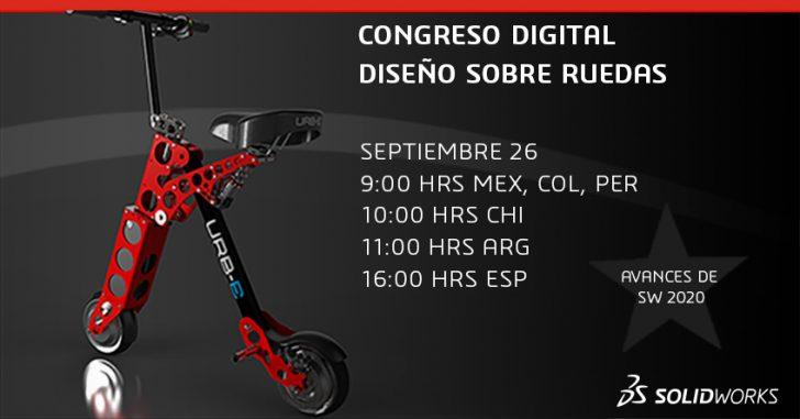 Congreso Digital – 26 de septiembre 2019 – Diseño sobre ruedas, del concepto al consumidor