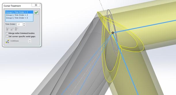 Cambia la intensión del diseño de tus perfiles con el tratamiento de esquinas con SOLIDWORKS