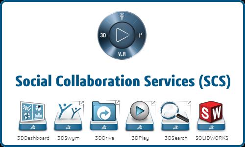 Uso de SOLIDWORKS y Social Collaboration Services para administrar sus bibliotecas