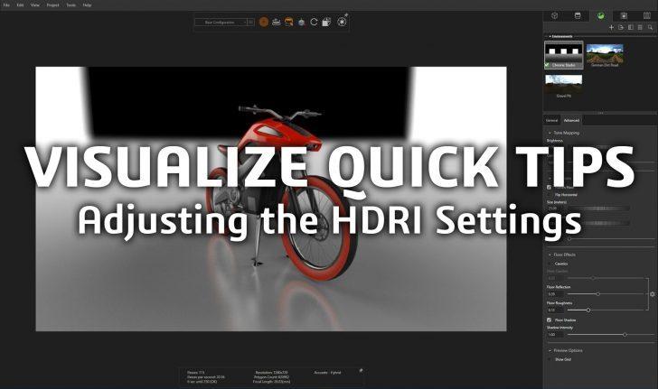 Consejo técnico de SOLIDWORKS: ajuste de la configuración de HDRI
