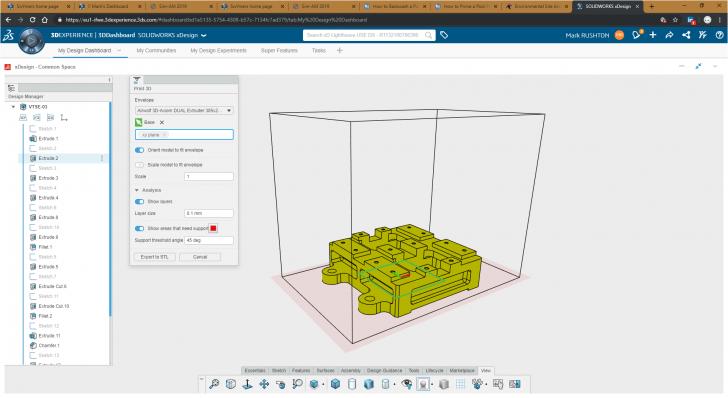 ¿Encajará una pieza en la impresora? Descubra rápidamente con la nueva biblioteca de volúmenes de compilación de impresoras 3D