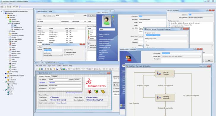 La gestión de documentos en SOLIDWORKS PDM