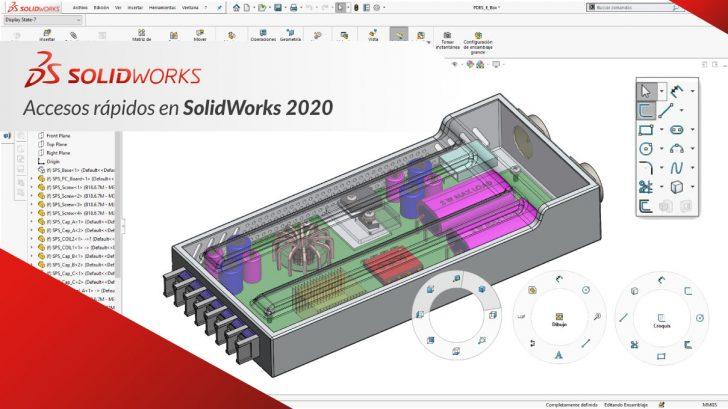 Accesos Rápidos en SolidWorks 2020
