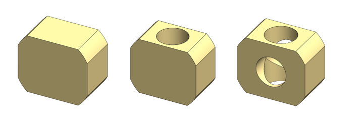 Corte circular en SOLIDWORKS