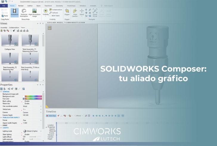 SOLIDWORKS COMPOSER: tu aliado gráfico