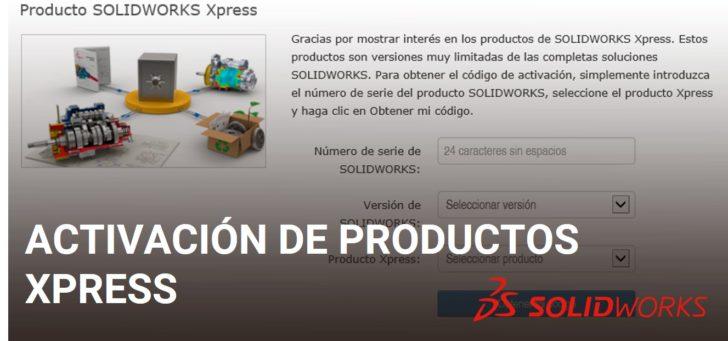 Activación de productos Xpress