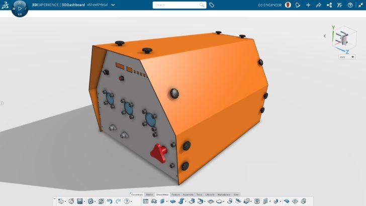 Cree diseños de chapa metálica listos para la producción con una potente solución basada en navegador