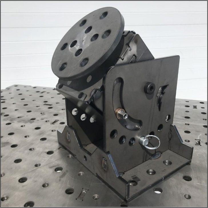 Herramienta de pestaña y ranura para fabricación metalica.