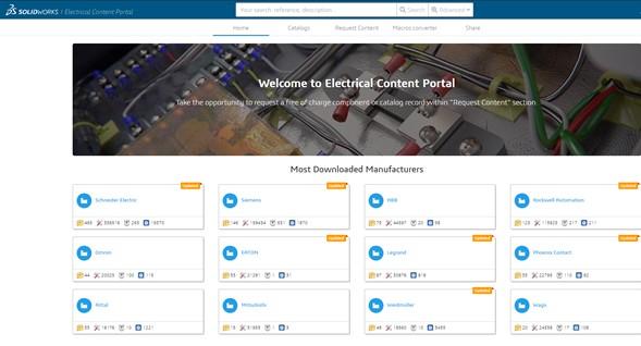 ¿Te hacen falta símbolos o referencias para tus proyectos de SOLIDWORKS Electrical?