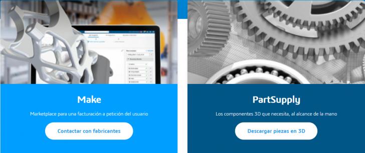 Encuentra a tu proveedor dentro de la 3DEXPERIENCE en el Marketplace