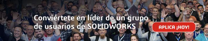 Ahora puedes convertirte en el líder de nuestra comunidad de usuarios de SOLIDWORKS, ¡descubre cómo!
