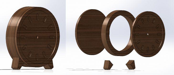 Diseño de relojes con despiece
