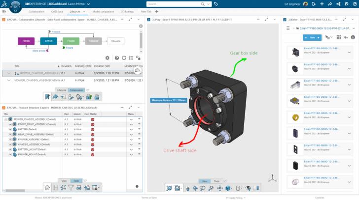 El sencillo modelo de licencia de la plataforma 3DEXPERIENCE ofrece opciones de acceso casual