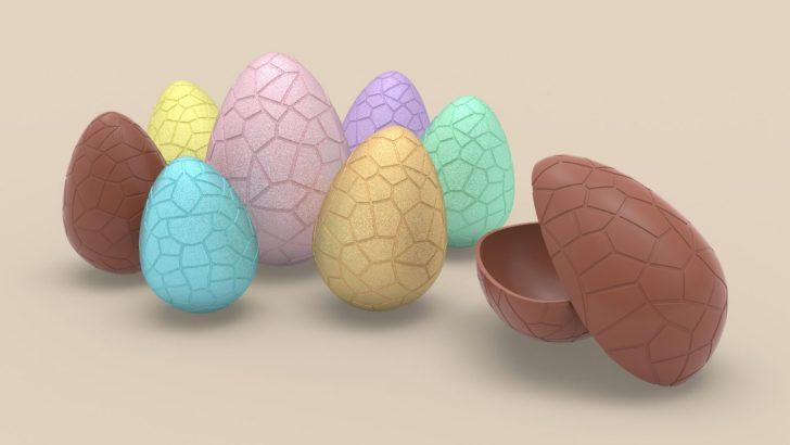 Tutorial del huevo de chocolate