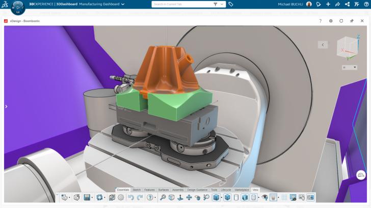 Ampliar las capacidades de fabricación con DELMIA NC