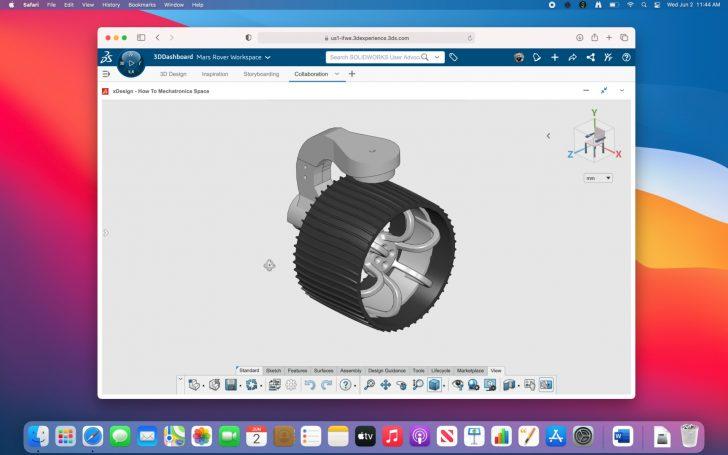 Impresión 3D + Arduino + 3DEXPERIENCE SOLIDWORKS = Réplica del Mars Rover