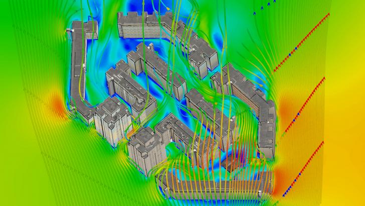 Resolver problemas de flujo de fluidos más complejos en la nube