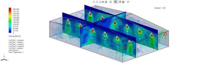 Desarrollo de productos de flujo de aire HVAC disruptivos en el mercado con SOLIDWORKS