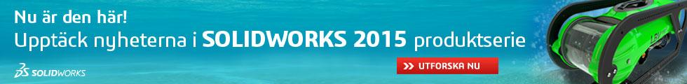 Nu är den här! SOLIDWORKS 2015