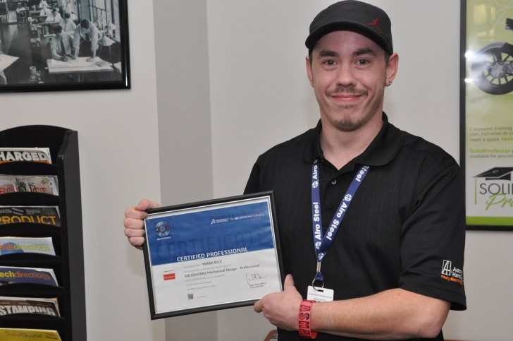 Inspiring Students through SOLIDWORKS Certification