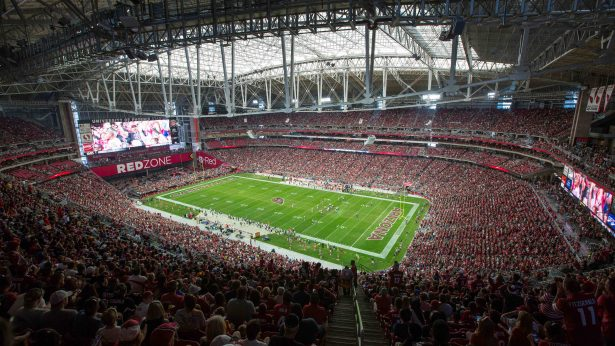 Eaton's Ephesus Lighting in University of Phoenix Stadium