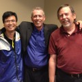 Huizhou, China group leader Roy Luo with me and MARISUG leader Jeff Holliday
