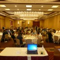 Attendees enjoying lunch at the SWUGN Summit - Chicago