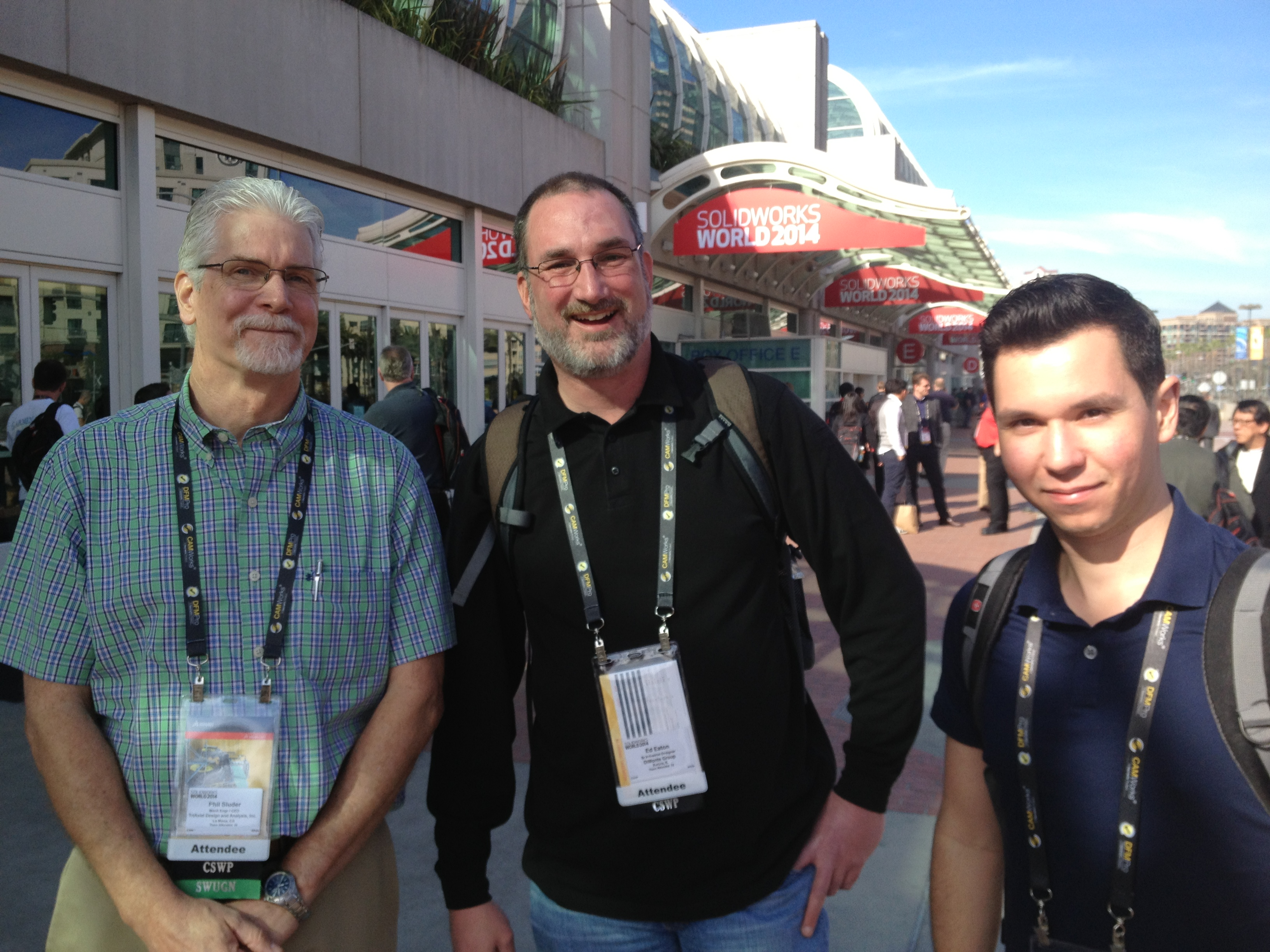 The Big Three are Back at SOLIDWORKS World 2015