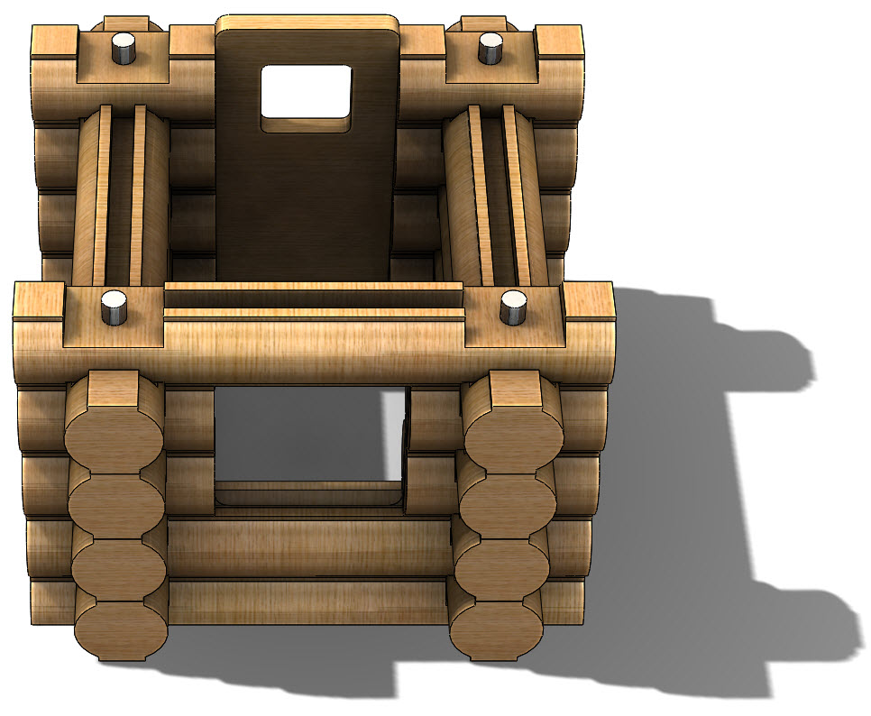 Creating a Log Cabin in SolidWorks – Part 15: Assembling Windows