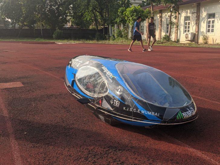TEAM ETA Use SOLIDWORKS To Design Aerodynamic Vehicle for Shell Eco-Marathon