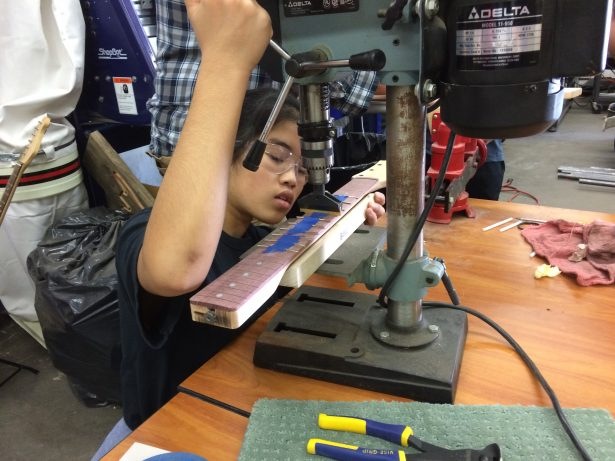 One of Ed's students.