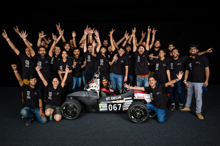 Axlr8r Formula Racing- The Formula Student Electric team of IIT Delhi