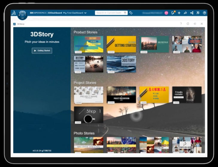 New to the 3DEXPERIENCE Education Portfolio: 3DStory and 3DSketch