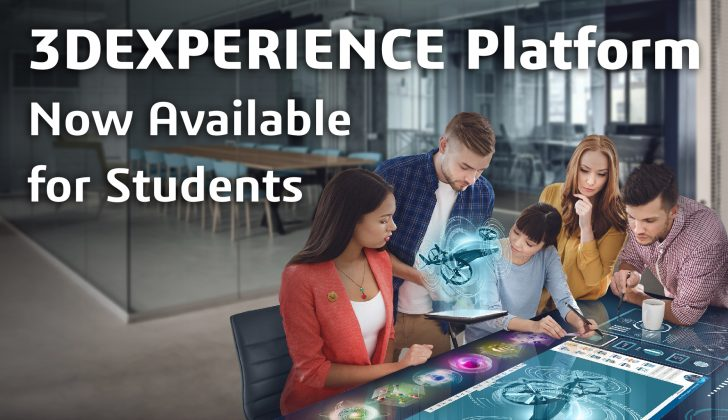 3DEXPERIENCE Platform Now Available for Students!
