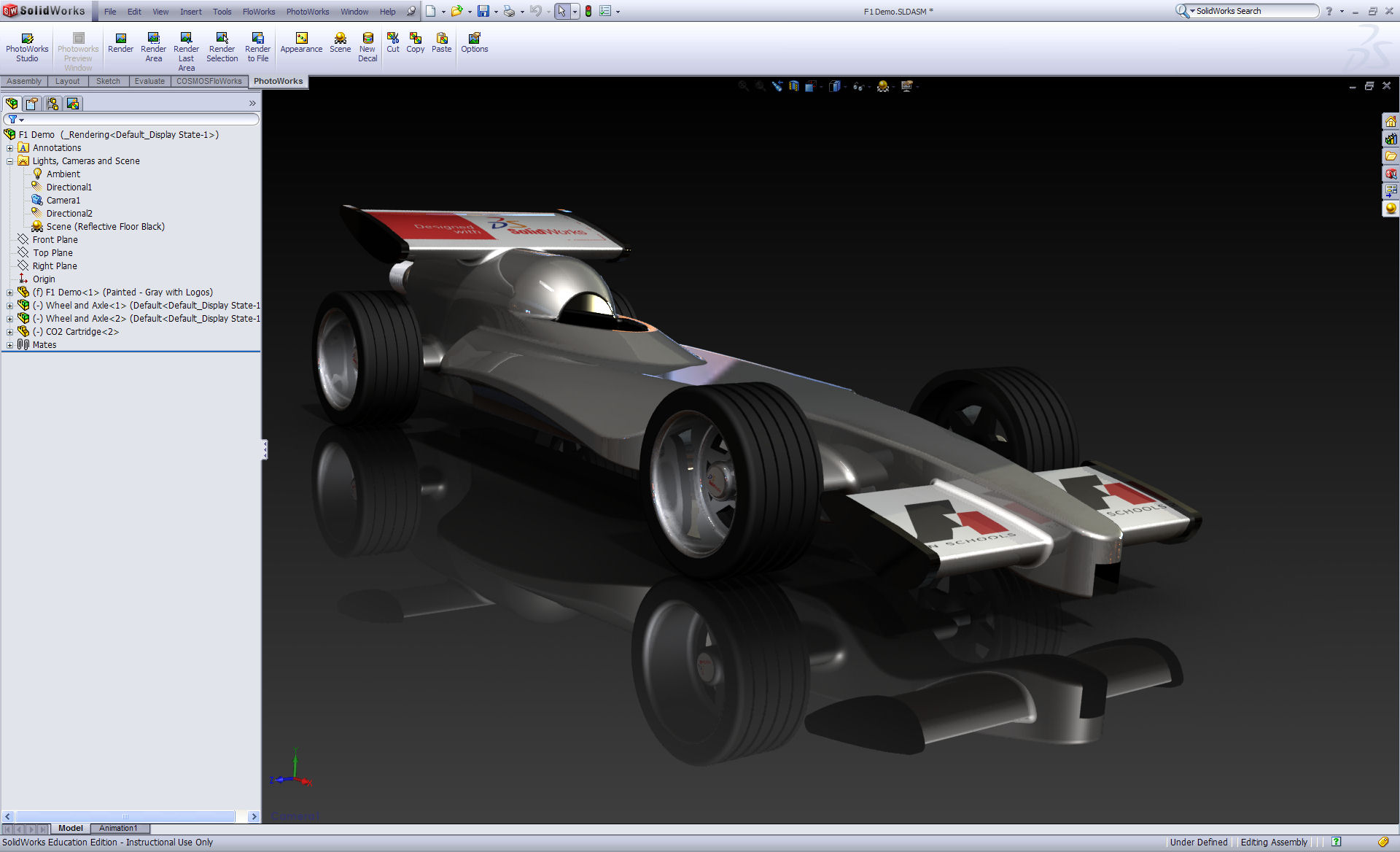 Race Car Design Project F1inschools Tm