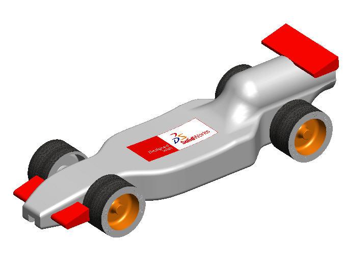 Race Car Design Project, F1inSchools(TM)