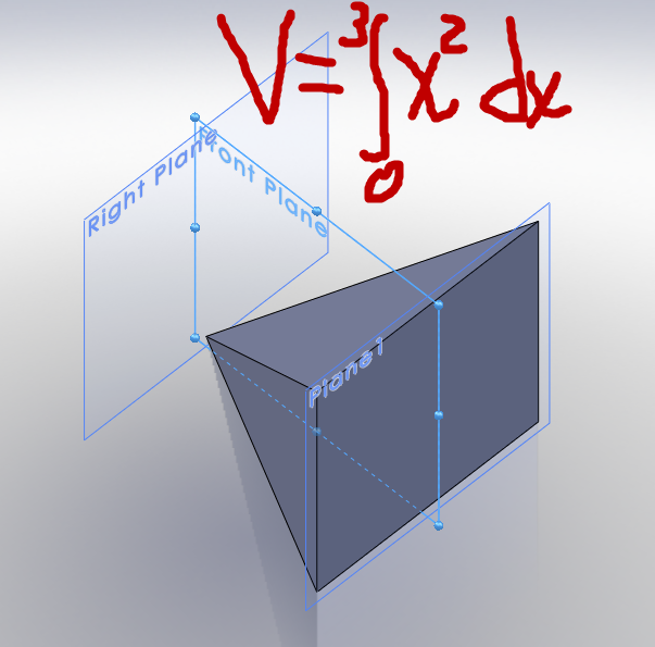 Determining Volume of a Pyramid in SolidWorks