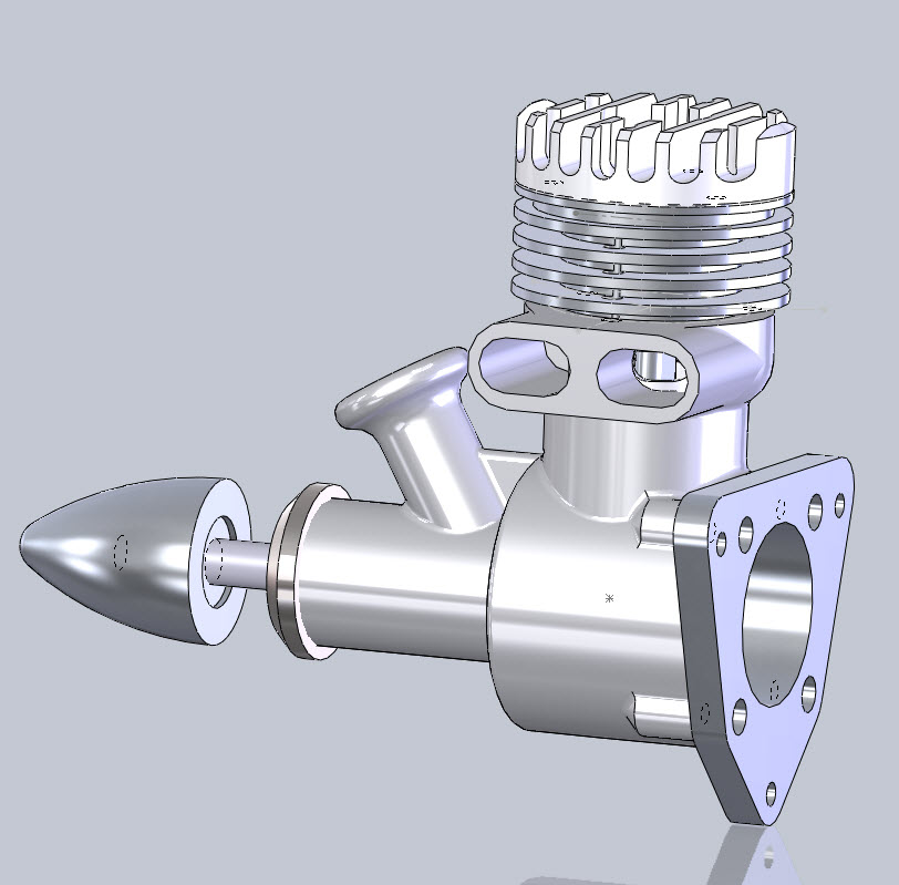 SolidWorks Tutorial: Gas Engine