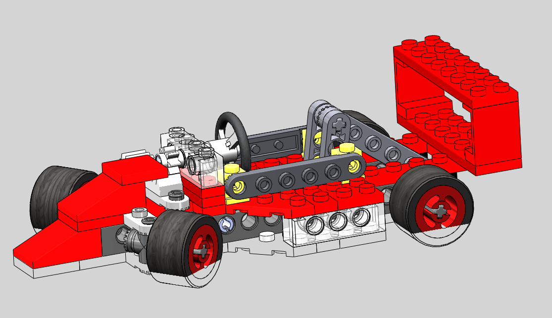 SolidWorks Tutorial: Toy Car LEGO (R)