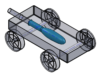 JETCAR – SAE A World In Motion K12 Project with DraftSight DWG File