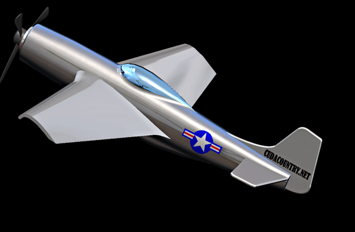 SolidWorks Tutorial: P51 Mustang Airplane Model