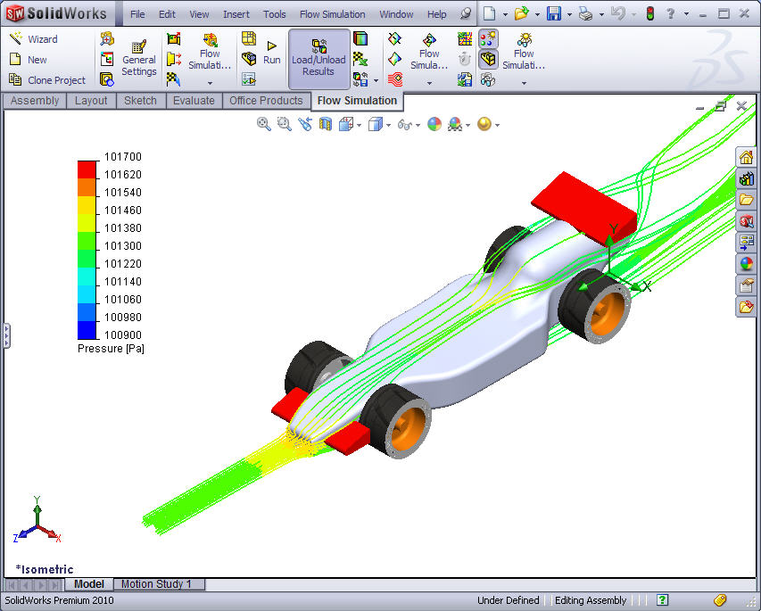 SolidWorks Tutorial: F1inSchools (French)