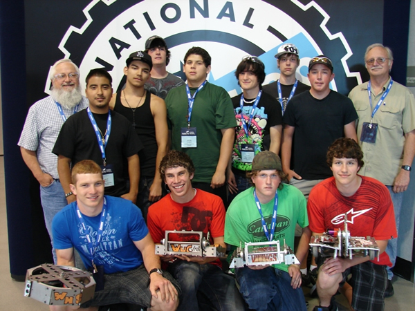 2010 National Robotics League Champions