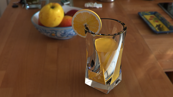 Juice Glass in SolidWorks