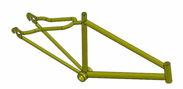 Bike Frame Static Analysis